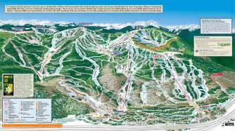 colorado resort map vail ski resort map
