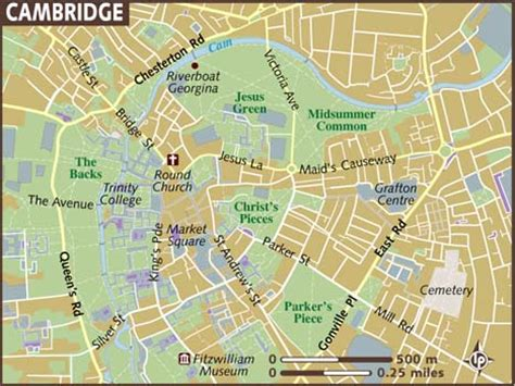 map uk cambridge map of cambridge