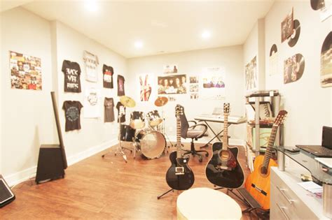 Home Decorating Ideas For Living Rooms basement life music room