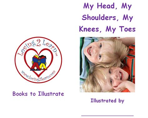 My To Toe Book comprehension strategy illustrating picture books