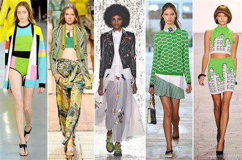 pantone spring fashion 2017 greenery il colore pantone per il 2017