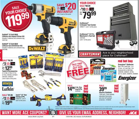ace hardware flyer ace hardware weekly ad weekly ads