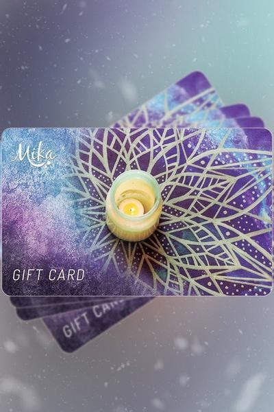 Shopify Physical Gift Cards - mika gift cards mika yoga wear