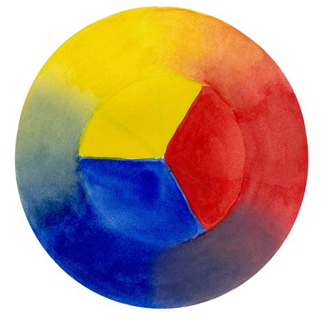 yellow blue color wheel muir laws