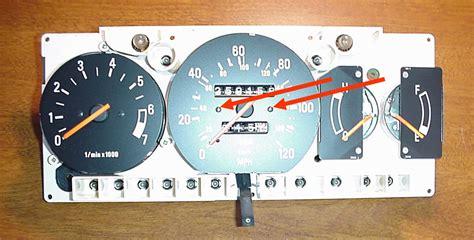 Volvo Speedometer Repair by Dave S Volvo Page Volvo 240 Odometer Repair