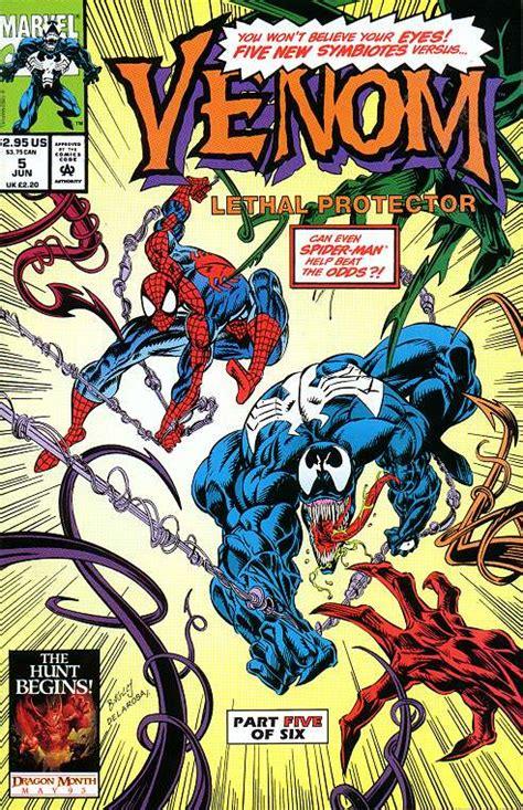 symbiote the peradon series books spiderfan org comics venom lethal protector 5