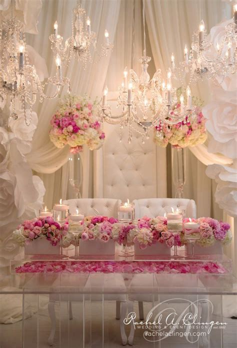 Sweetheart Decorations by Wedding Sweetheart Table Ideas Weddings Romantique
