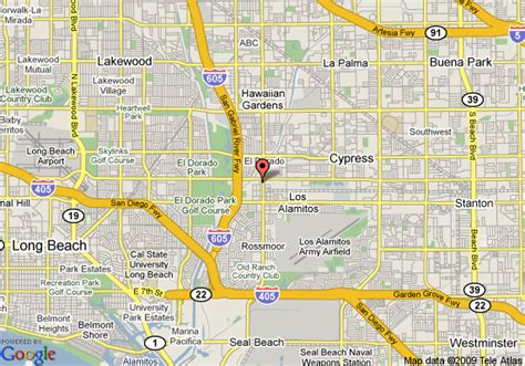 los alamitos california map map of best western los alamitos inn and suites los alamitos