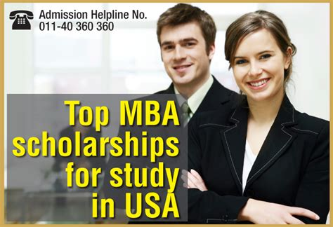 Study Mba In Canada With Scholarship by Mba Scholarships For Indian Students In Usa