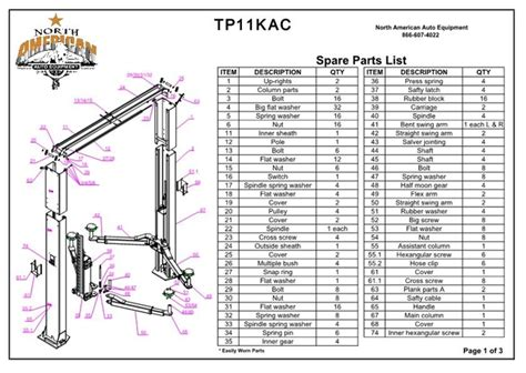 2 post car lift wiring diagram on 2 images free