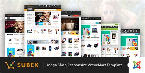 Vina Subex V1 0 Mega Shop Responsive Virtuemart Template Mega Shop Template