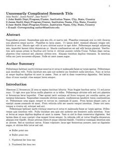 Plos One Word Template by Essay Format Sle