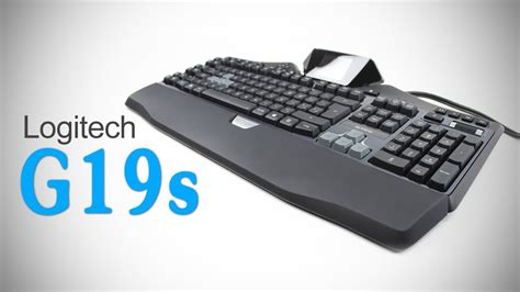 Keyboard Logitech G19s logitech g19s gaming keyboard unboxing review