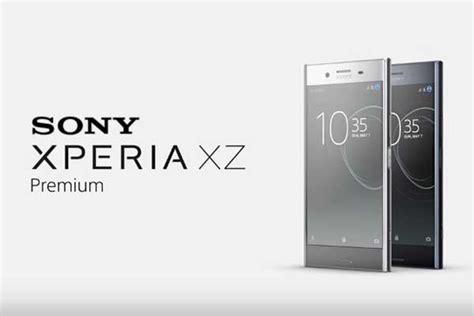 Lensa Sony Xperia harga sony xperia xz premium dan spesifikasi lengkap lensa warga