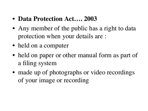 data protection act section 10 recordkeep