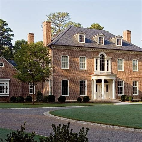 georgian style homes federal style colonial homes pinterest bricks