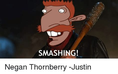 Thornberry Meme - smashing negan thornberry justin meme on sizzle
