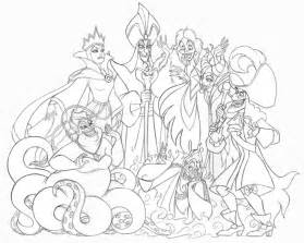 disney villains coloring book gwynne oliver illustration product design