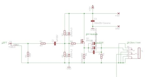 transistor headphone lifier schematic class a mosfet headphone lifier r s