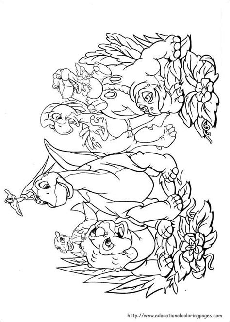 Land Before Time Coloring Page land before time coloring educational coloring