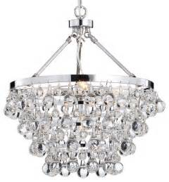 Chandeliers And Pendants Glass 5 Light Luxury Chandelier Chrome