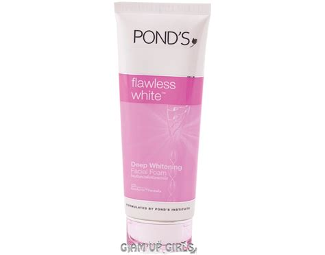 Ponds Whitening Exfoliating Scrub ponds flawless white whitening foam review swatches care reviews