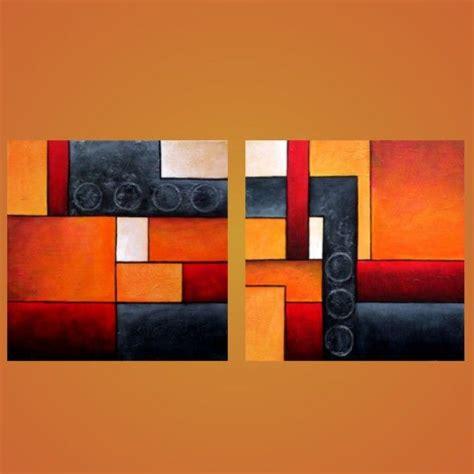 cuadro abstracto cuadros abstractos modernos decorativos tripticos dipticos