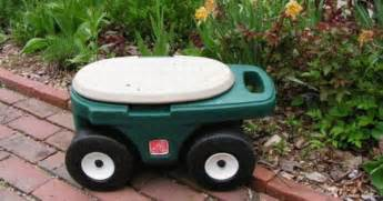 higher productivity with garden stool on wheels garden