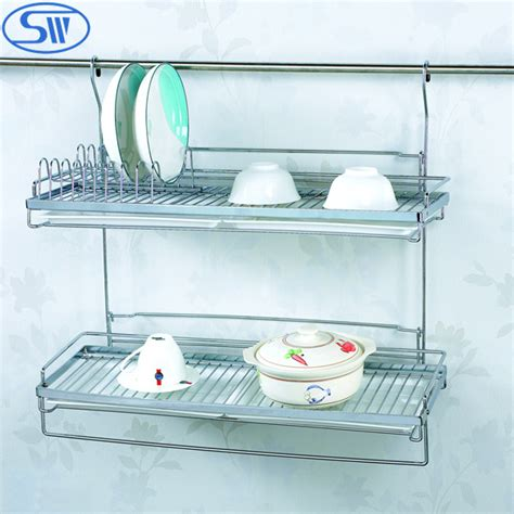 kitchen cabinet plate storage dinner plate storage rack 4 tier wrought iron plate stand