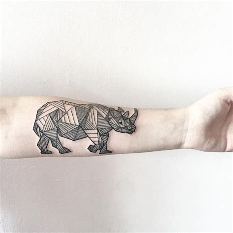 geometric tattoo rhino 34 best tattoo ideas images on pinterest gorgeous