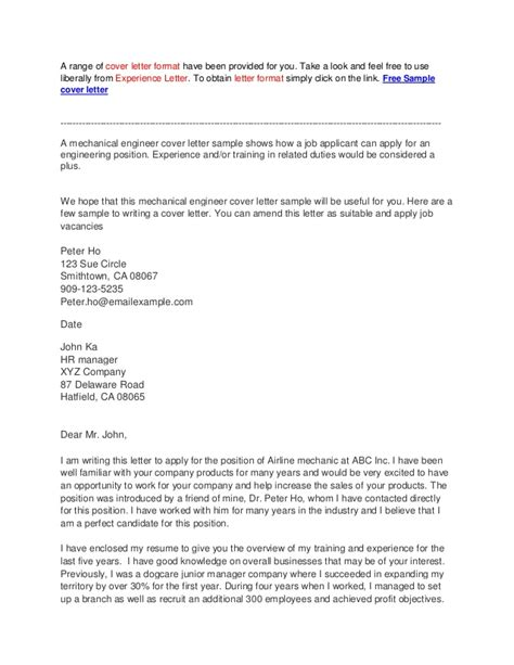 cover letter sle for it professional professional cover letter sle 58 images sle cover
