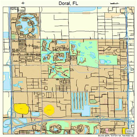 where is doral florida on map doral florida map 1217935