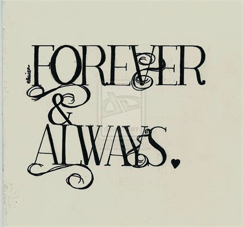 forever always i love you forever and always quotes quotesgram
