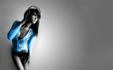 cool house music download music girl wallpaper 1920x1200 wallpoper 258231