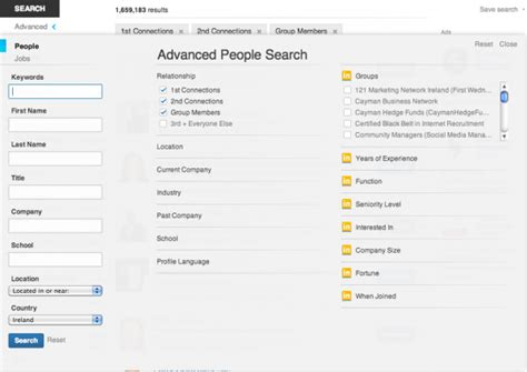 Linkedin Search For The Complete Guide To The New Linkedin Advanced Search Voltron Socialtalent