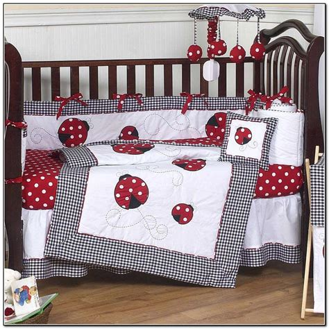 red baby bedding red baby crib bedding sets beds home design ideas