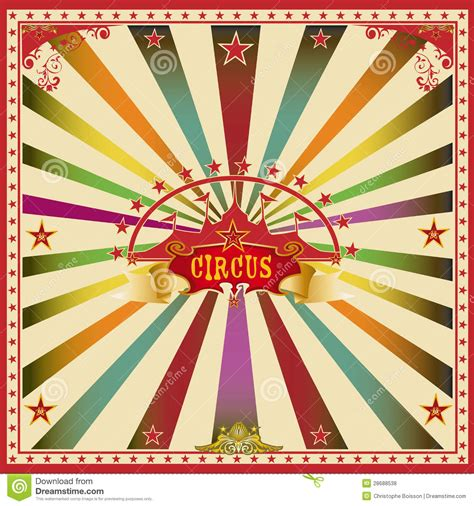 circus colors square circus color card stock photo image of