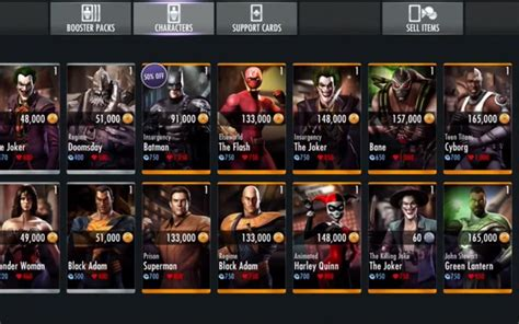 injustice ios new challenge new injustice ios characters showcased product reviews net
