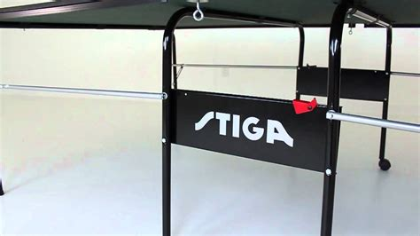stiga advance table tennis table advance table tennis table youtube