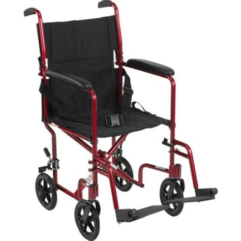 Transport Chairs At Walmart by Drive Lightweight Transport Wheelchair 19 Quot Seat Walmart
