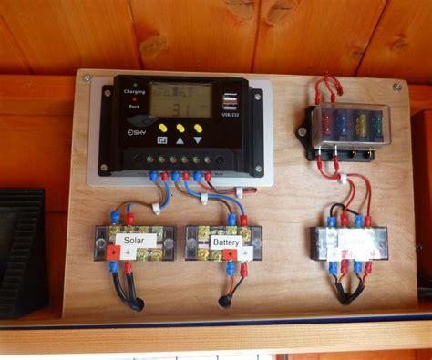 shed  solar lighting system  steps  pictures