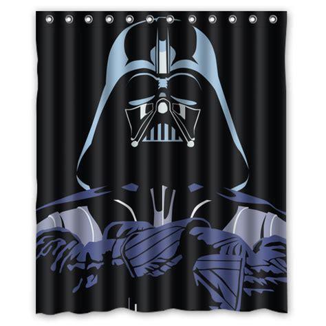 darth vader shower curtain cool cartoon darth vader custom made design unique