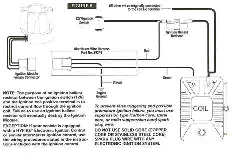 mallory unilite ignition box wiring diagram wiring
