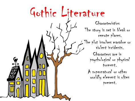 themes of american gothic literature a growing nation american literature 1800 1870