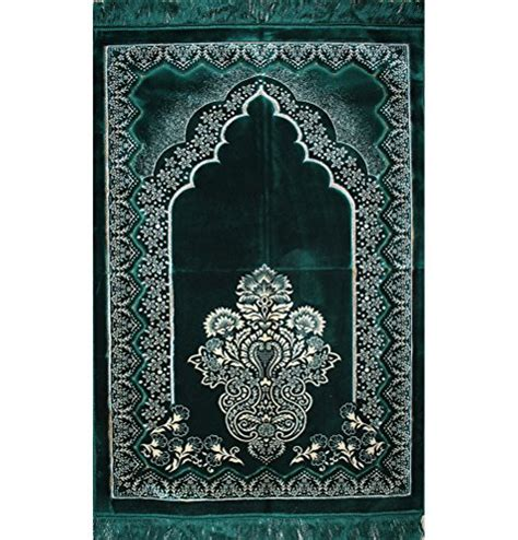 janamaz prayer rug free shipping wide turkish prayer rug plush velvet muslim janamaz islamic namaz seccade prayer