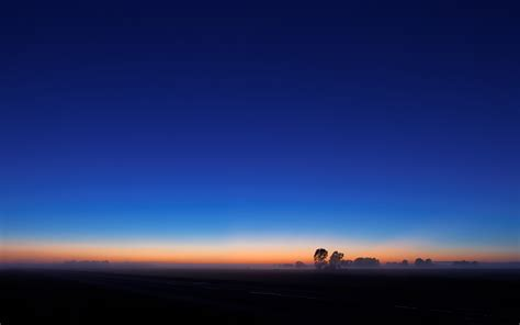 Amazing Blue Sky Sunset Wallpaper from WallWideHD.com