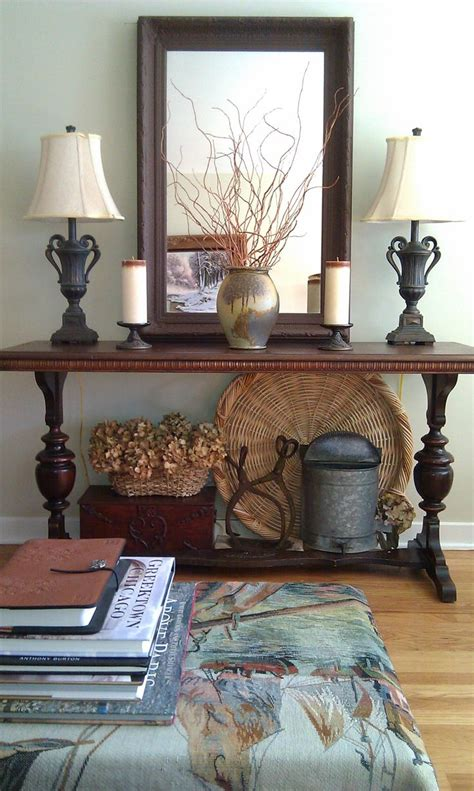 living room decorative items 1000 ideas about foyer table decor on