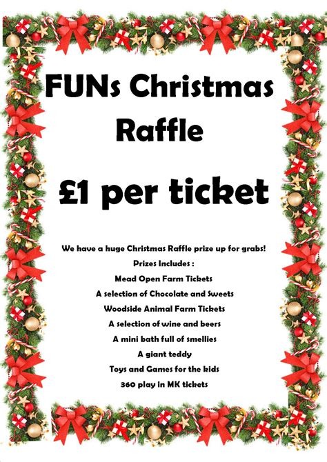 28 best prizes for christmas grand christmas raffle