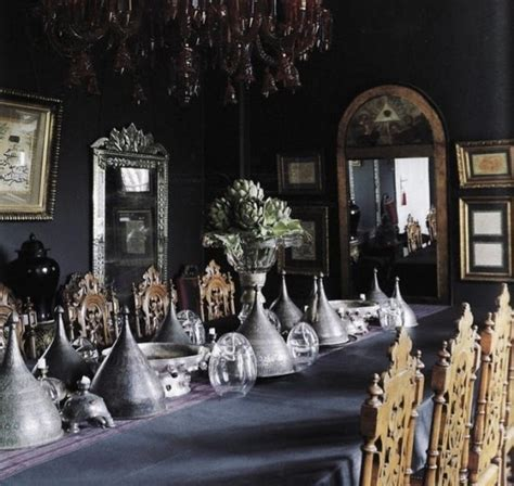 gothic dining room 20 refined gothic kitchen and dining room designs digsdigs