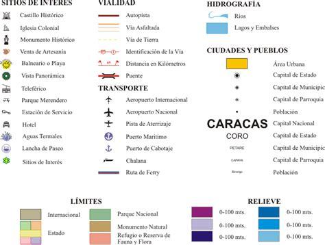 imagenes de simbolos usados en los mapas leyenda de los simbolos en mapas y planos de la isla de